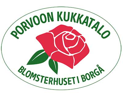 Porvoon Kukkatalon logo